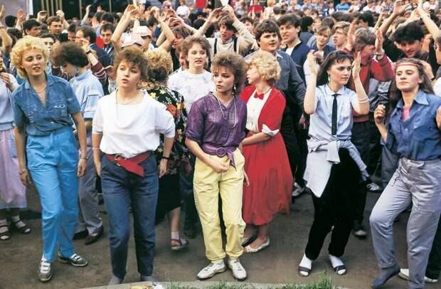 Уличные дискотеки 90-х