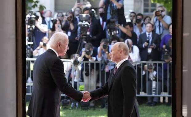 Глава Швейцарии назвал самый запомнившийся момент встречи Путина иБайдена   Русская весна
