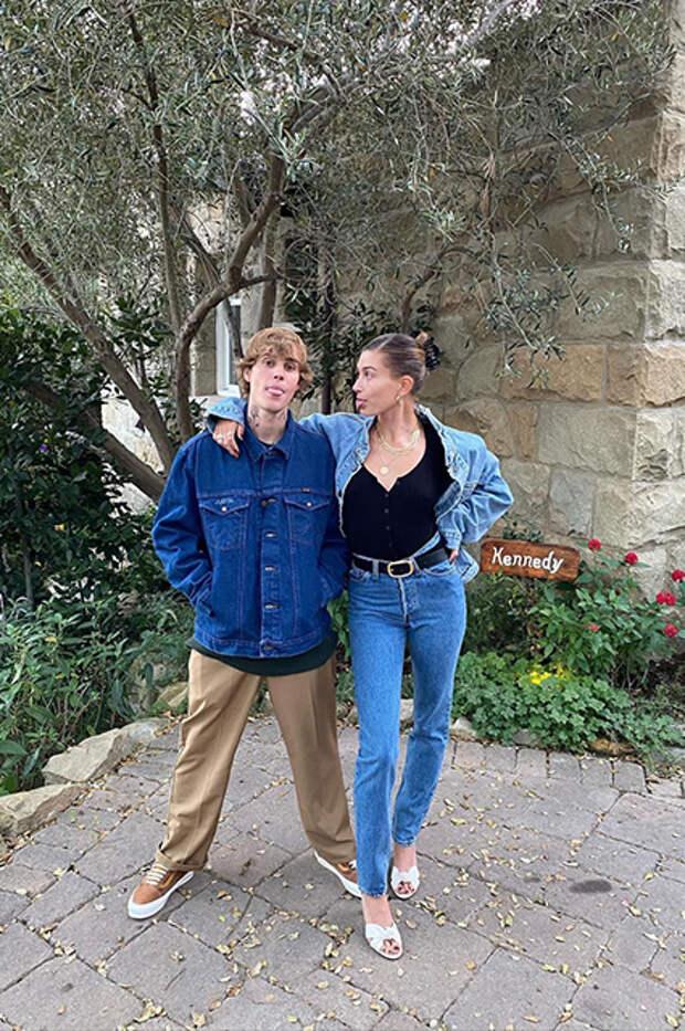 Джастин и Хейли Бибер