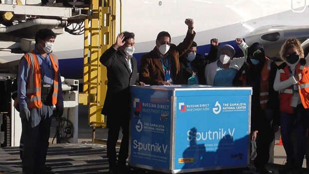 """В Боливию доставили очередную партию """"Спутника V"""""""