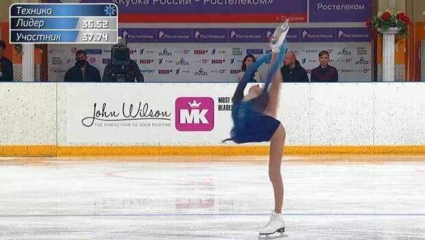 «Практически нет равных». Ягудин оценил победный прокат и платье Щербаковой после короткой программы на КР: видео