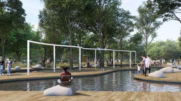 «Уголок дикой природы»: Как изменится Гагаринский парк в Симферополе после реконструкции