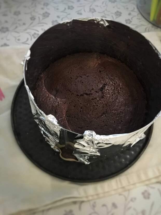 """Попробую сделать торт """"Черный лес"""". Часть 1."""