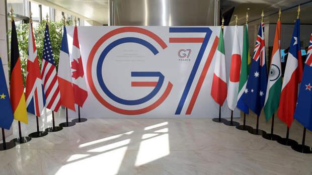 Лидеры G7 призвали власти Белоруссии провести новые выборы