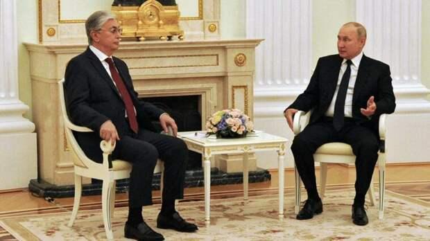 Президент Путин: контакты России и Казахстана находятся на очень высоком уровне