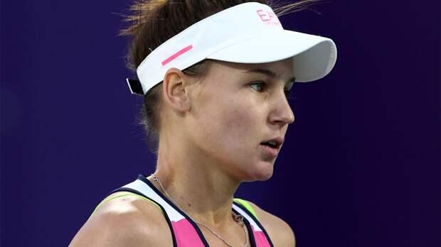 Кудерметова с победы стартовала на турнире в Мельбурне