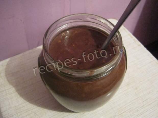Домашняя нутелла с орехами