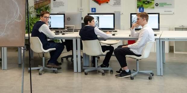 Собянин рассказал о достижениях московского образования. Фото: Д. Гришкин mos.ru