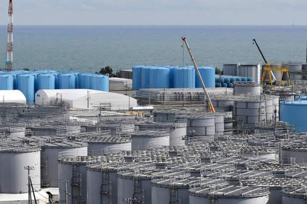 Сильное землетрясение произошло в районе японской АЭС Фукусима-1