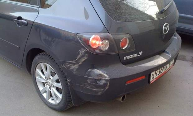 Советы ДПСника! Что делать, если авто ударили во дворе и скрылись?