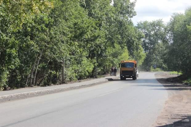 Единственную дорогу в Старках отремонтировали в Ижевске