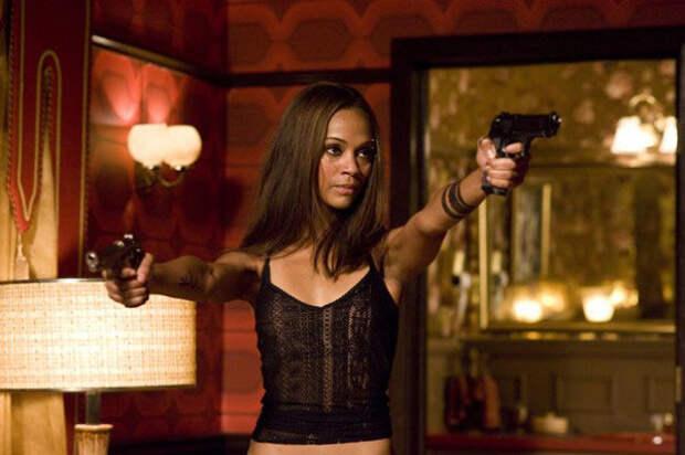 Самые красивые женщины-убийцы в кино.