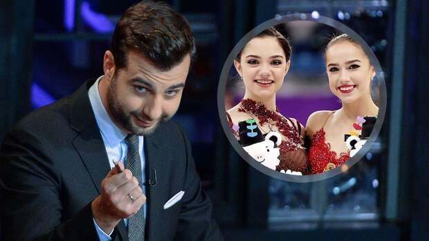 Медведева и Загитова станут гостями шоу «Вечерний Ургант»
