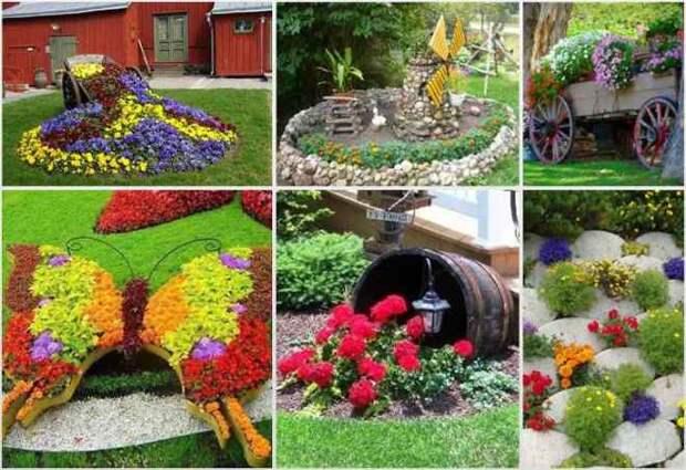 Идеи для сада: простые и оригинальные варианты (65 фото)