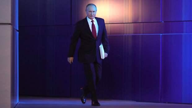 Путин пообещал работать над достижением поставленных целей