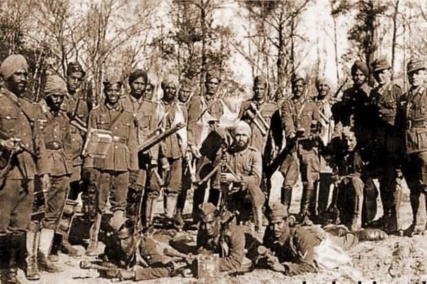 Самые экзотические военные части, которые воевали за Гитлера