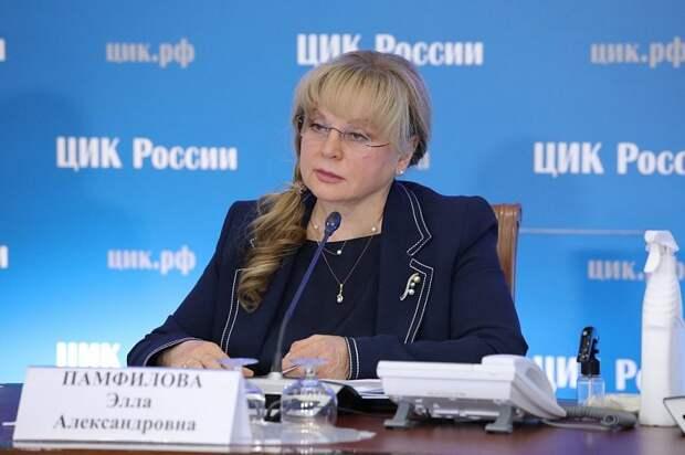 Памфилова добивается поддержки Путина