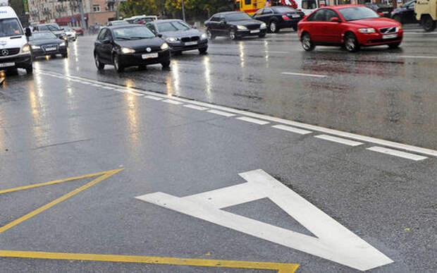 Двойная выделенка: в Москве продолжают дорожные эксперименты