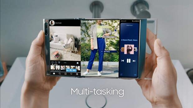 Samsung, это фантастика или ближайшее будущее? Компания показала концептуальные устройства с новыми дисплеями