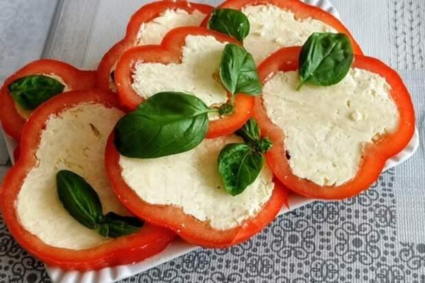 Антипасти по-советски или фаршированный  сыром перец: фото шаг 4