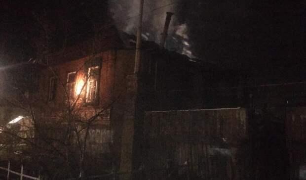 Два человека погибли на серьезном пожаре в Орске
