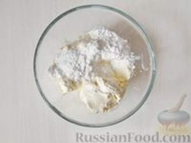 Фото приготовления рецепта: Медовик апельсиновый - шаг №16