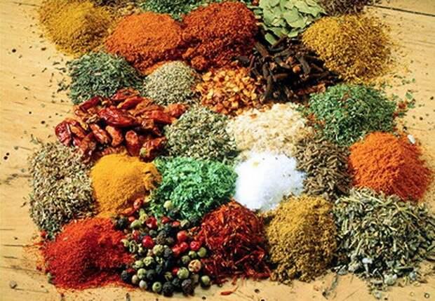 Полезные пряности индийской кухни