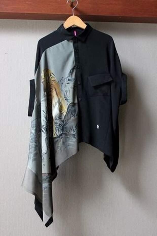 Новые вещи с платками (подборка)