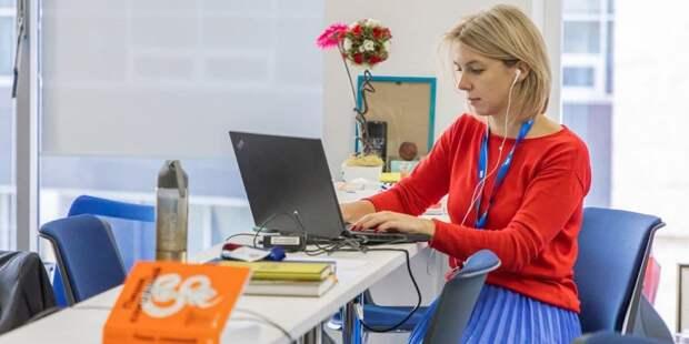Сергунина назвала самые популярные онлайн-сервисы портала «Малый бизнес Москвы». Фото: М. Мишин mos.ru