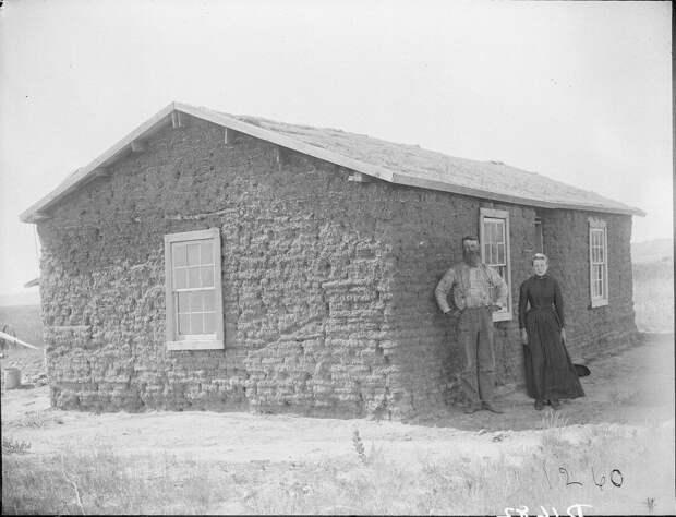 Как поднималась американская целина. Архивные фотографии пионеров Великих равнин конца 19-го века 29