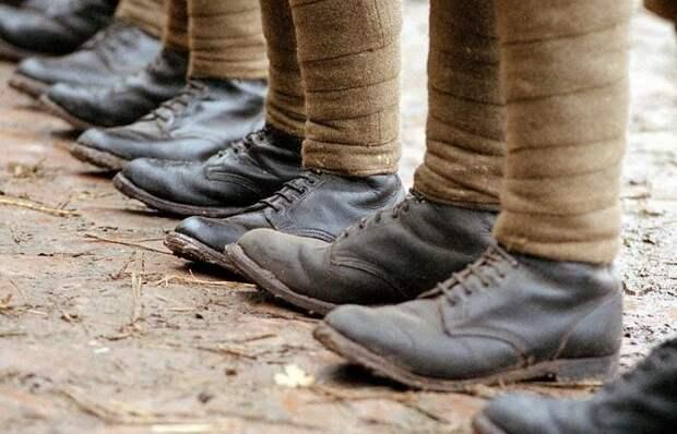 Для чего во времена Первой мировой войны солдаты обматывали ноги «бинтами» до колен