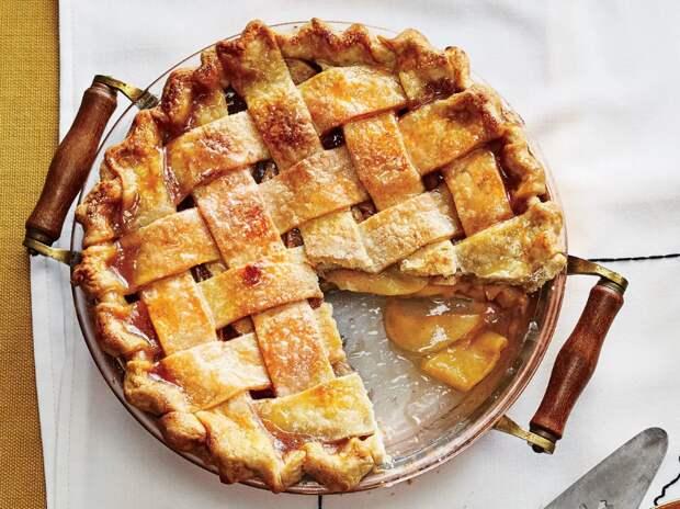 Рецепт яблочного пирога и пирога с персиком