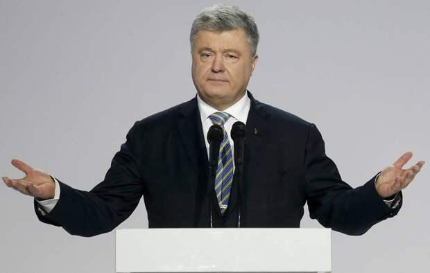 Порошенко – позор Украины: жители Закарпатской области  прогнали бывшего президента с митинга