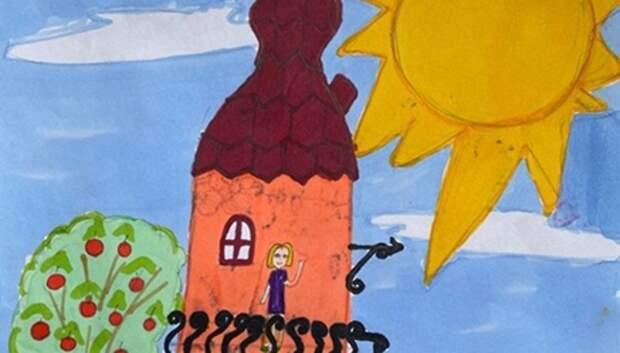 Итоги конкурса детского рисунка «Где живет счастье?» подвели в СДК Подольска