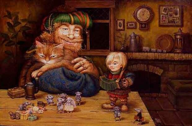 Маскаев Александр – создатель живописных сказок