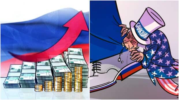 """Канадец: россияне должны голодать под санкциями, а у них такие деньги! / Коллаж: ФБА """"Экономика сегодня"""""""
