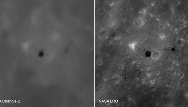 Китайские и индийские снимки вынесли вердикт: пиндосы были на Луне