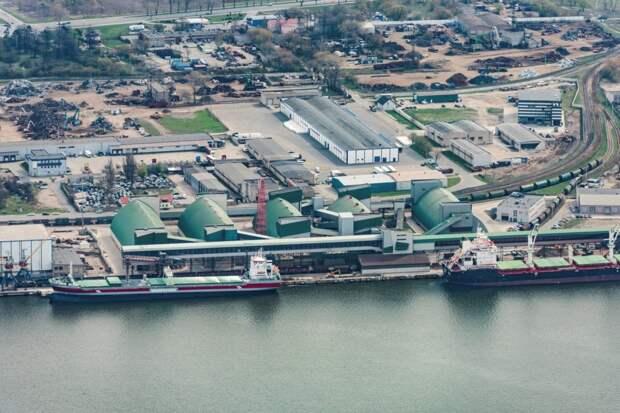 Терминалы Клайпедского порта