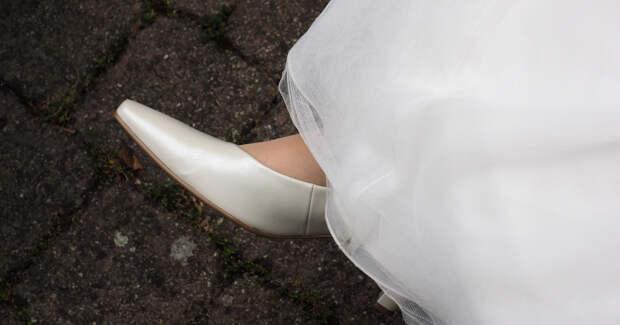 Невеста, обувь