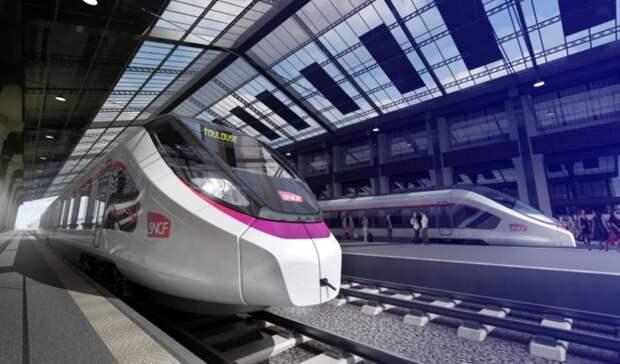 Наводороде побегут поезда