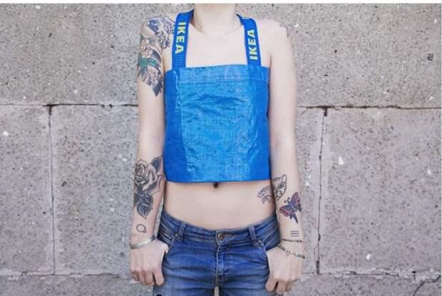 ЗАФРАКТОВАНО* (переделки синей сумки Frakta)