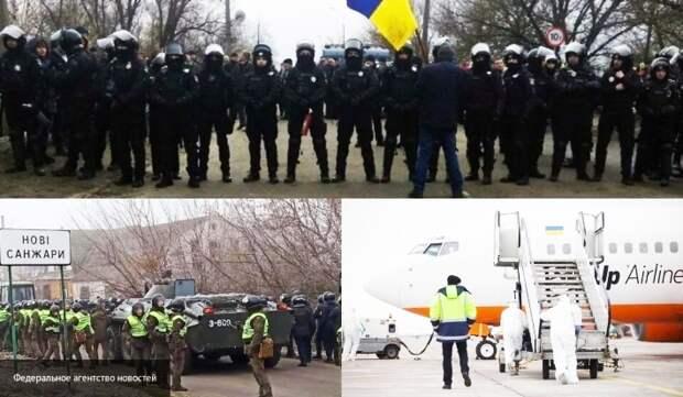 «Труп Украины уже начал разлагаться»: украинцы показали звериный оскал в Новых Санжарах