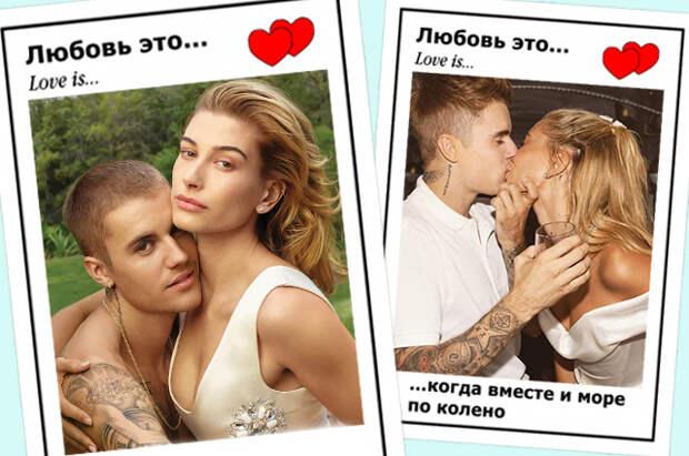 Любовь в картинках: 100 самых ярких фото звездной пары — Джастина и Хейли Бибер