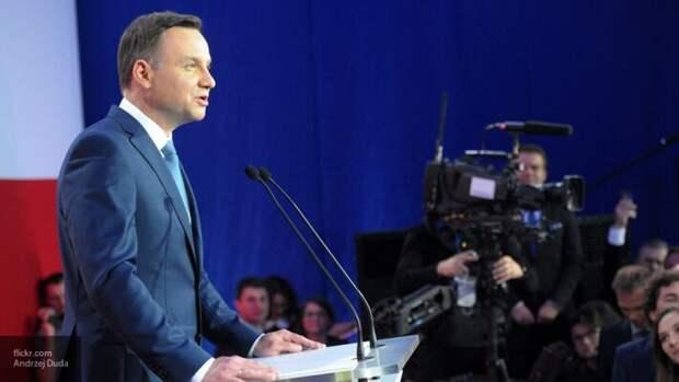 Дуда надеется, что после строительства Baltic Pipe Польша начнет диктовать условия России