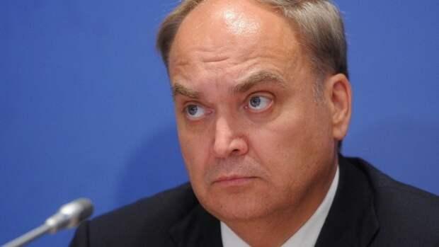 Замглавы МИД РФ: нет даже примерных сроков возвращения посла Антонова в США