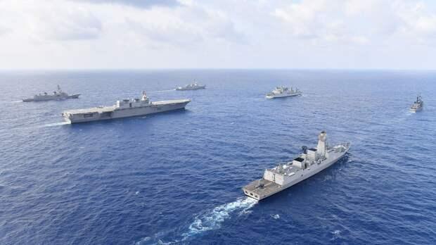 Главная стратегическая конкуренция сверхдержав сегодня происходит у берегов Китая
