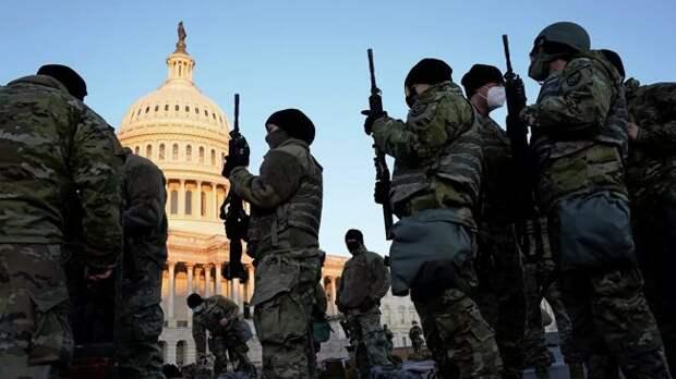 20000 бойцов Нацгвардии США могут быть направлены вВашингтон