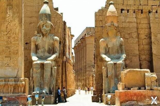 Луксор - вечное наследие древнеегипетской цивилизации