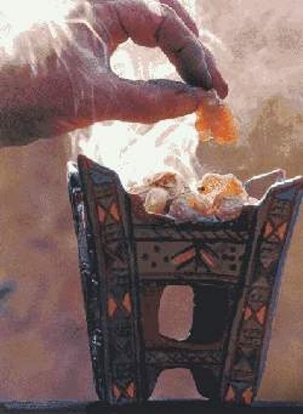О значении ароматов в христианском богослужении...