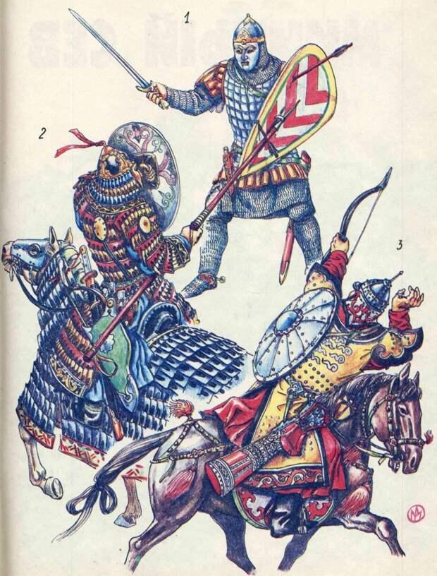 """""""Удальцы и резвецы рязанския"""" - битва на Воронеже (декабрь 1237 г.)"""